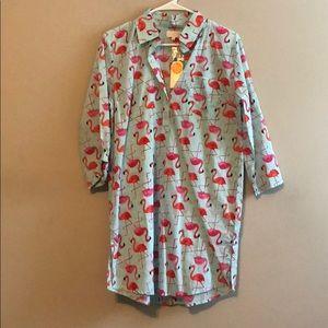Flamingo T-shirt Dress